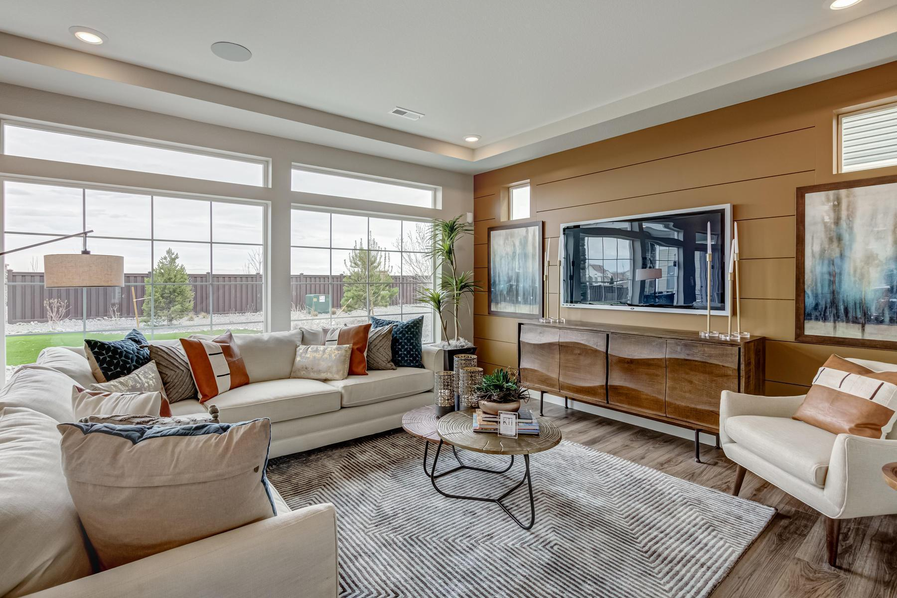 Living Area featured in the BENNET By Oakwood Homes in Denver, CO