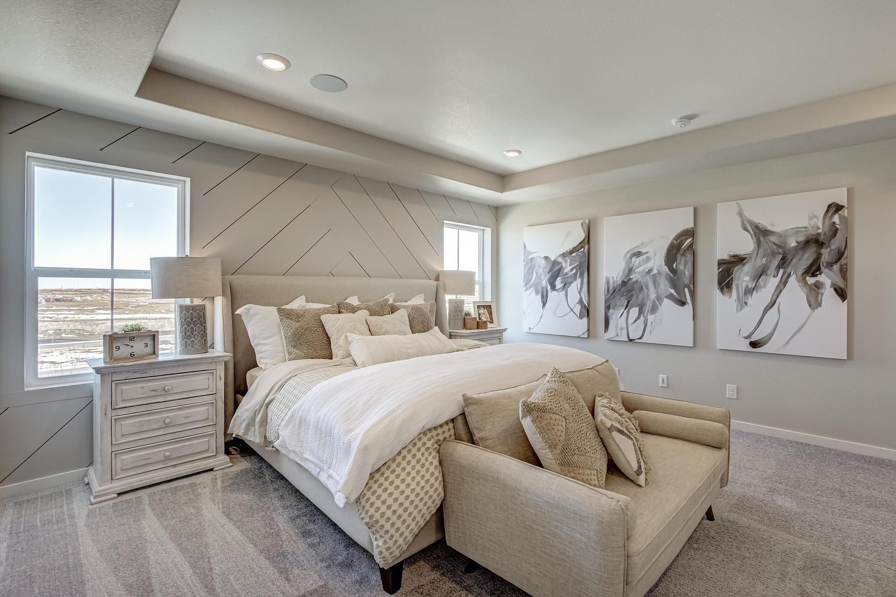 Bedroom featured in the  Branson  By Oakwood Homes Colorado in Denver, CO