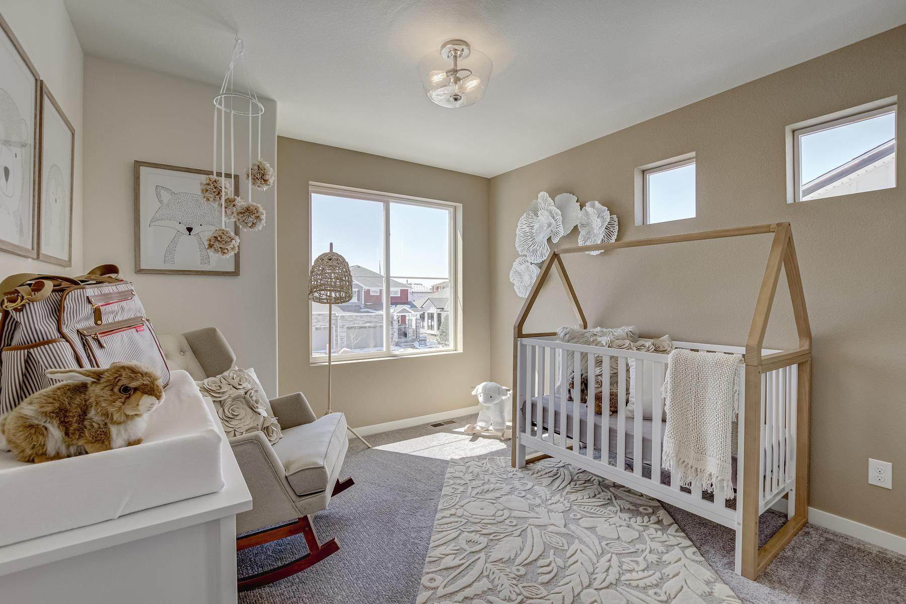 Bedroom featured in the  Branson  By Oakwood Homes in Denver, CO