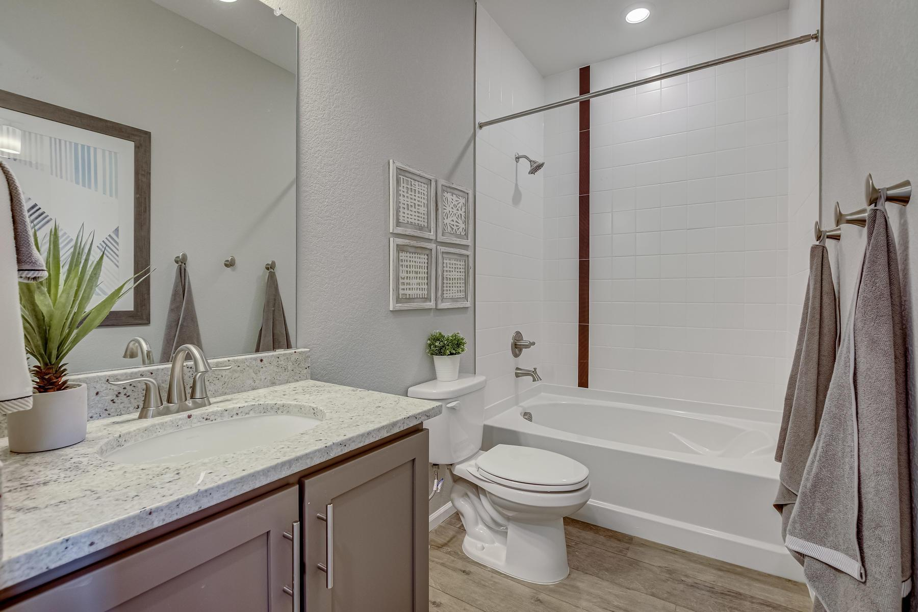 Bathroom featured in the Brighton By Oakwood Homes Colorado in Denver, CO