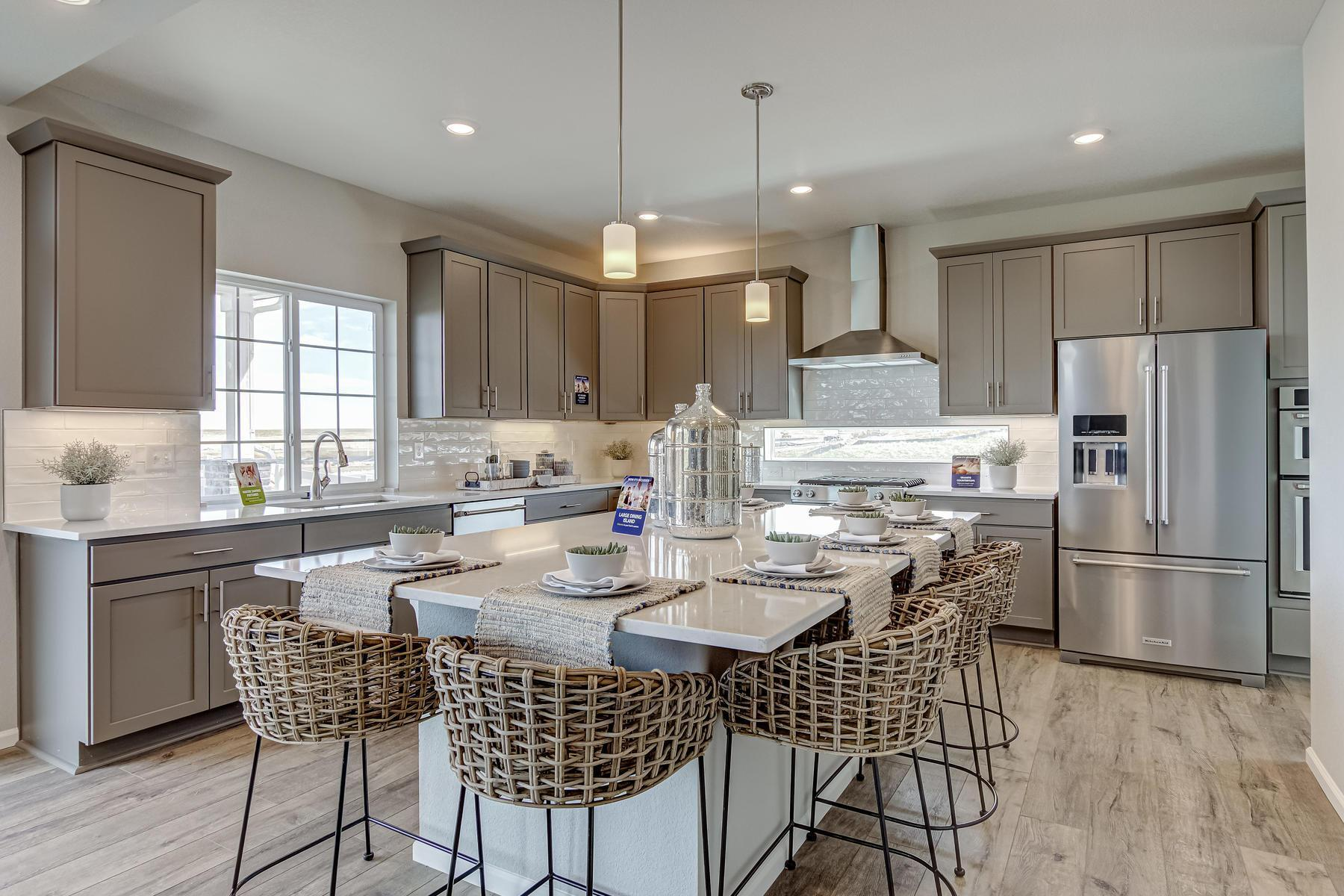 Kitchen featured in the Brighton By Oakwood Homes Colorado in Denver, CO