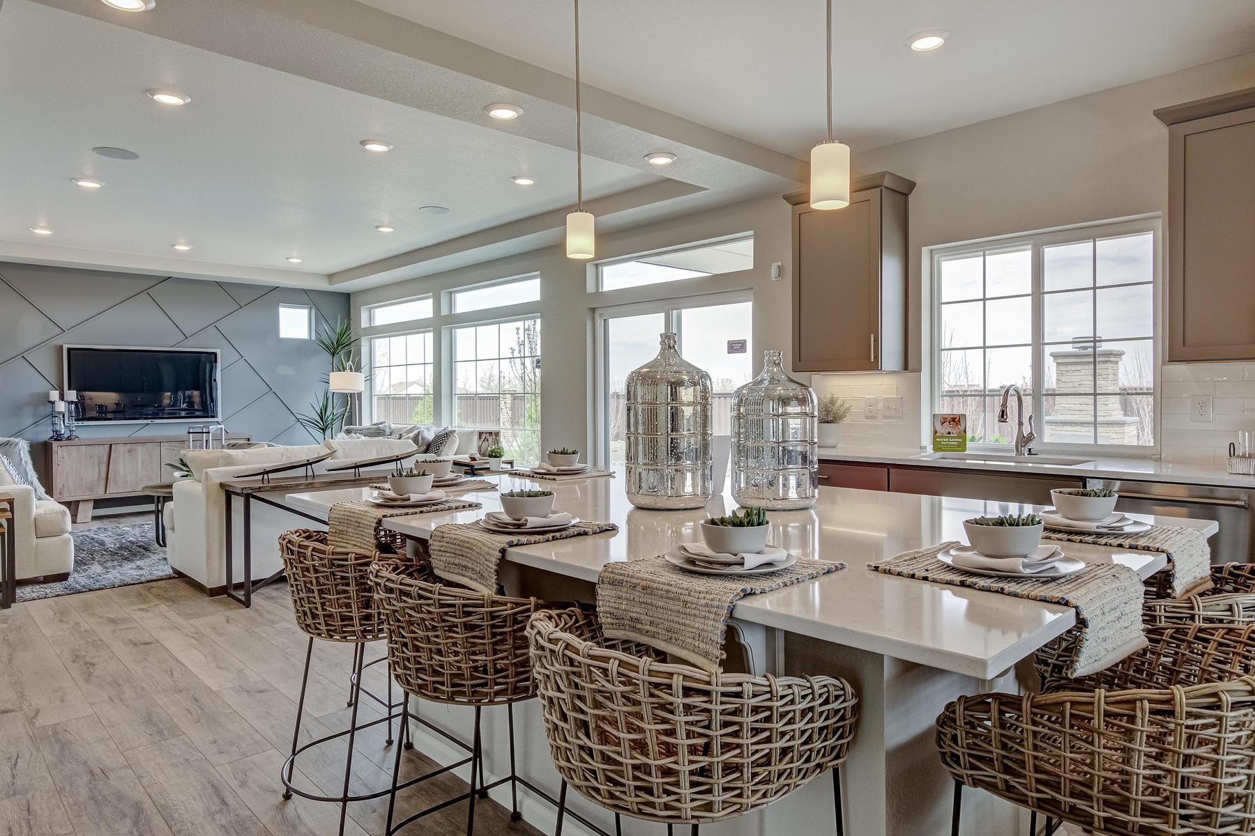Living Area featured in the Brighton By Oakwood Homes Colorado in Denver, CO