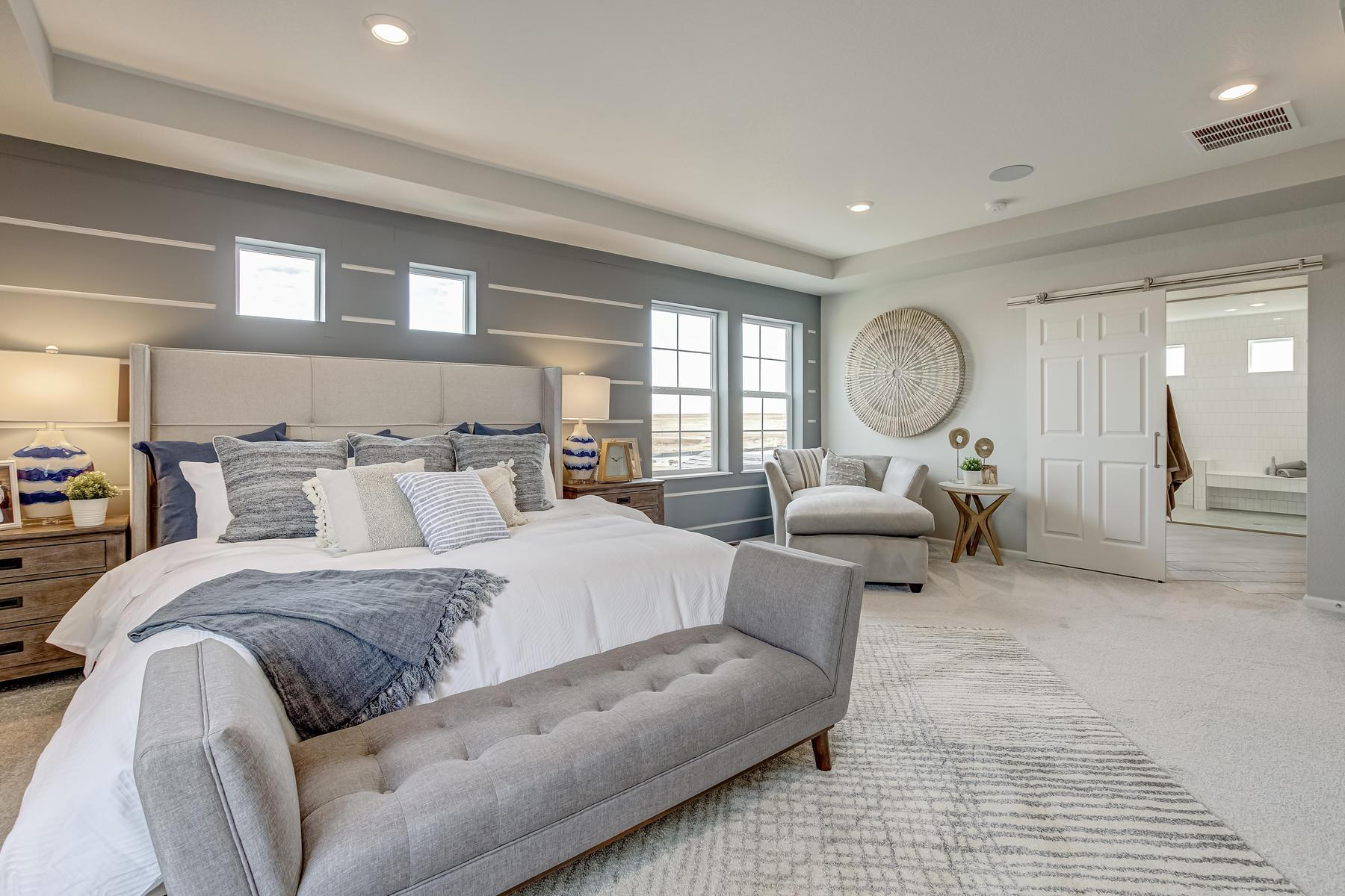 Bedroom featured in the Brighton By Oakwood Homes Colorado in Denver, CO