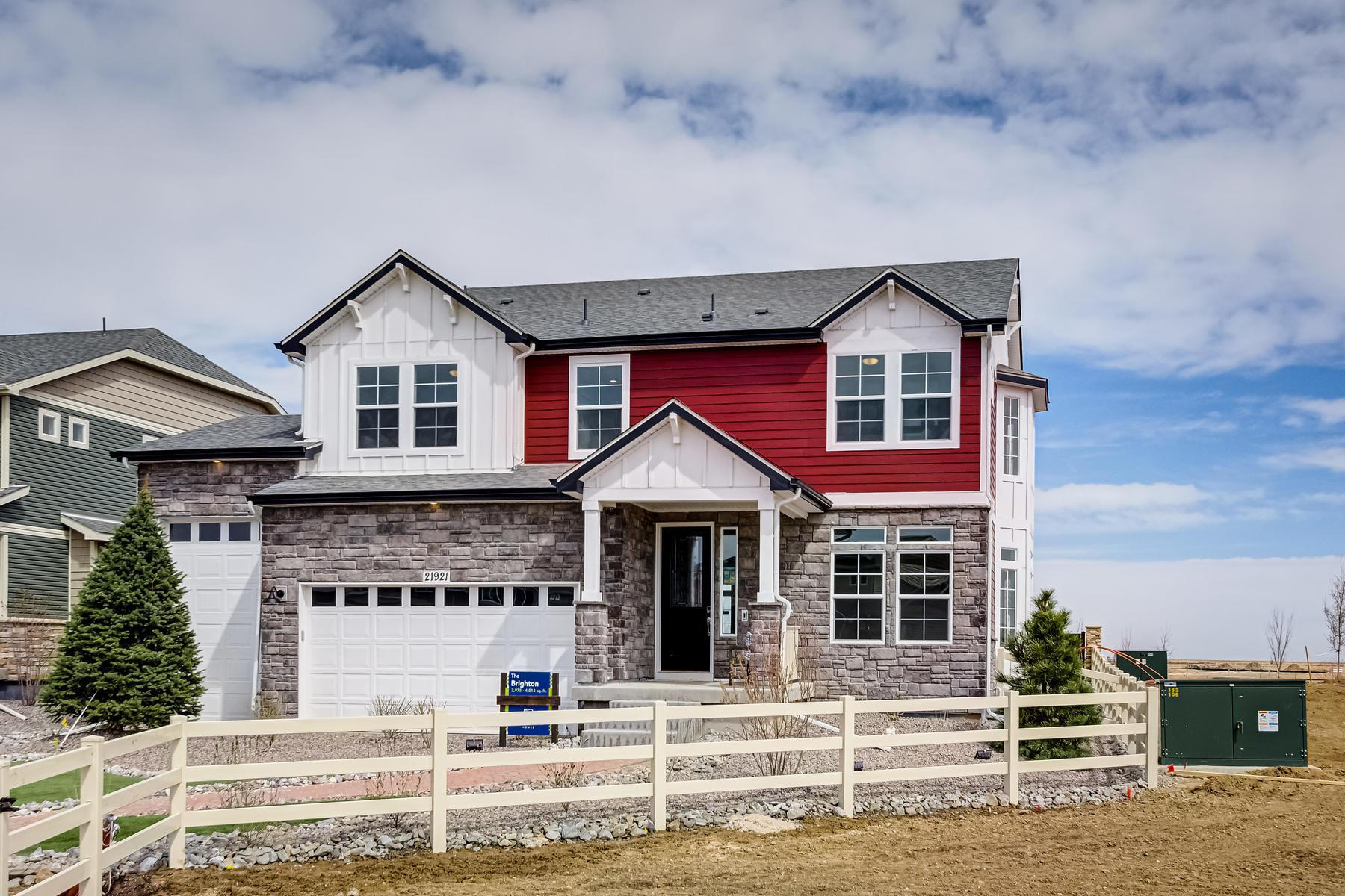 Exterior featured in the Brighton By Oakwood Homes Colorado in Denver, CO