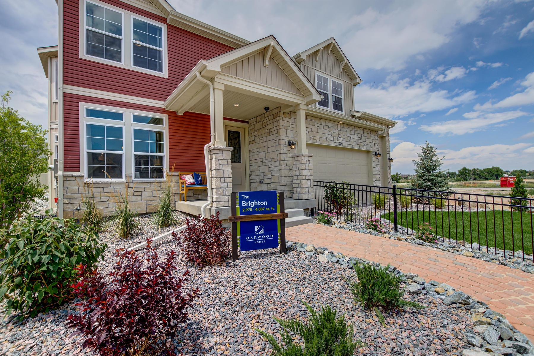 Exterior featured in the Brighton By Oakwood Homes in Fort Collins-Loveland, CO