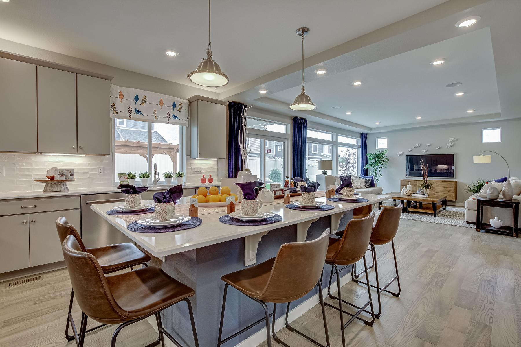 Kitchen featured in the Brighton By Oakwood Homes Colorado in Fort Collins-Loveland, CO