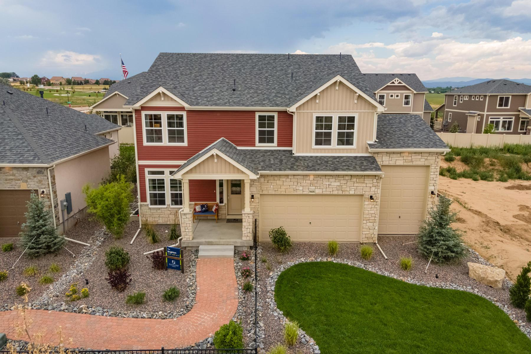 Exterior featured in the Brighton By Oakwood Homes Colorado in Fort Collins-Loveland, CO