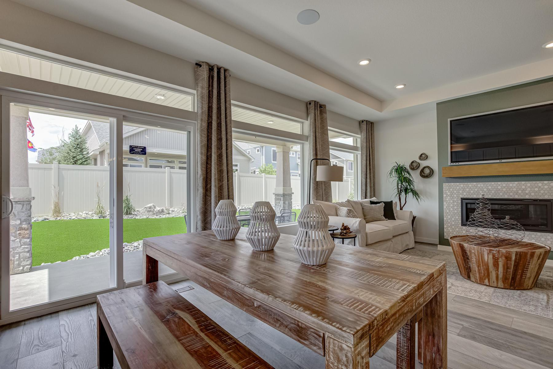Living Area featured in the Crestone By Oakwood Homes Colorado in Fort Collins-Loveland, CO