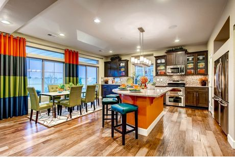 Kitchen-in-Yampa-at-Park House at Thompson River Ranch-in-Johnstown