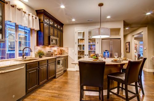 Kitchen-in-Gunnison-at-Green Valley Ranch-in-Denver