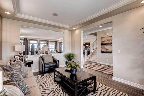 Greatroom-and-Dining-in-Barrington-at-The Enclave-in-Denver