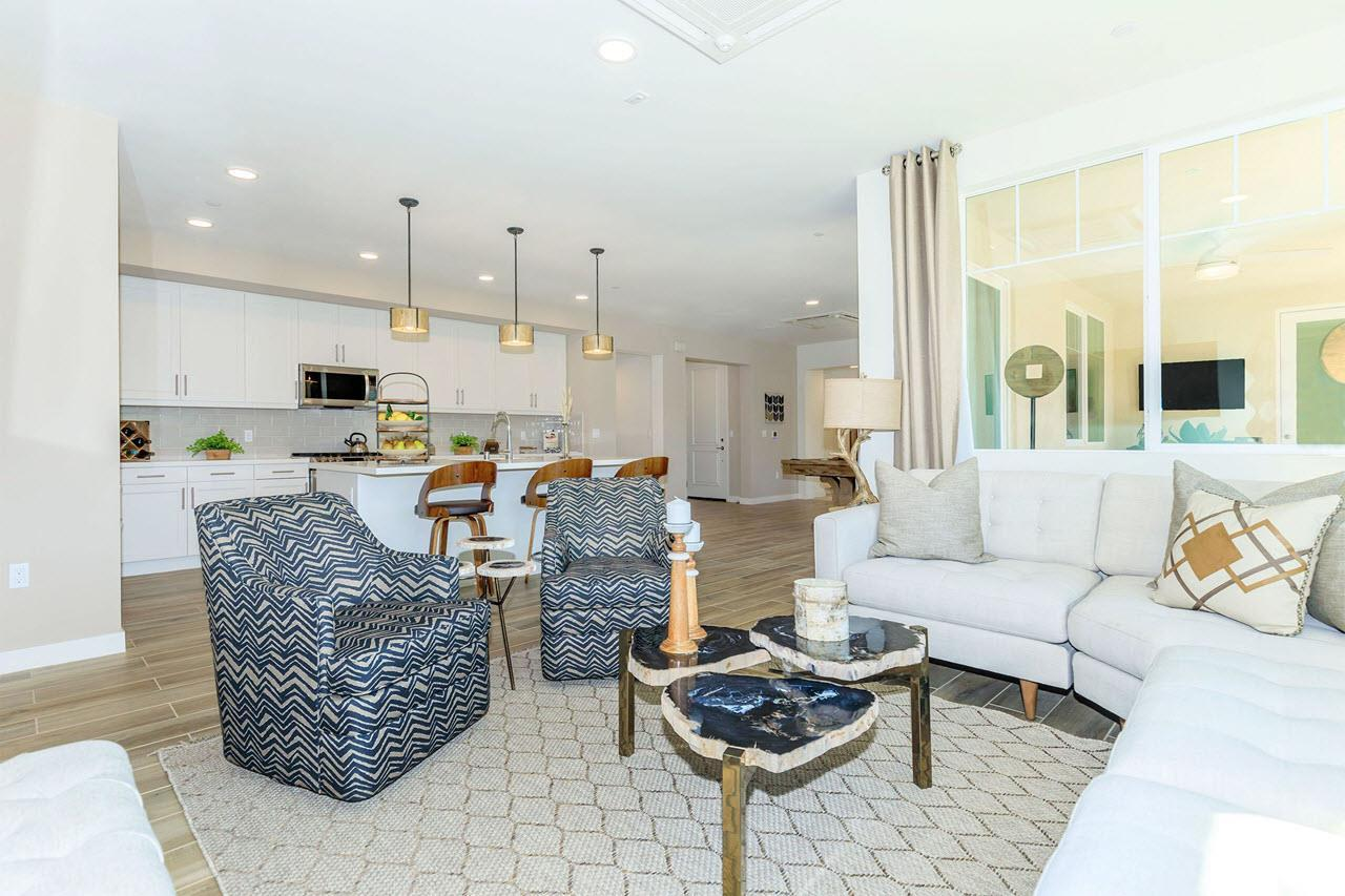 Living Area featured in the Plan 1A By Oakwood Communities Inc. in Ventura, CA