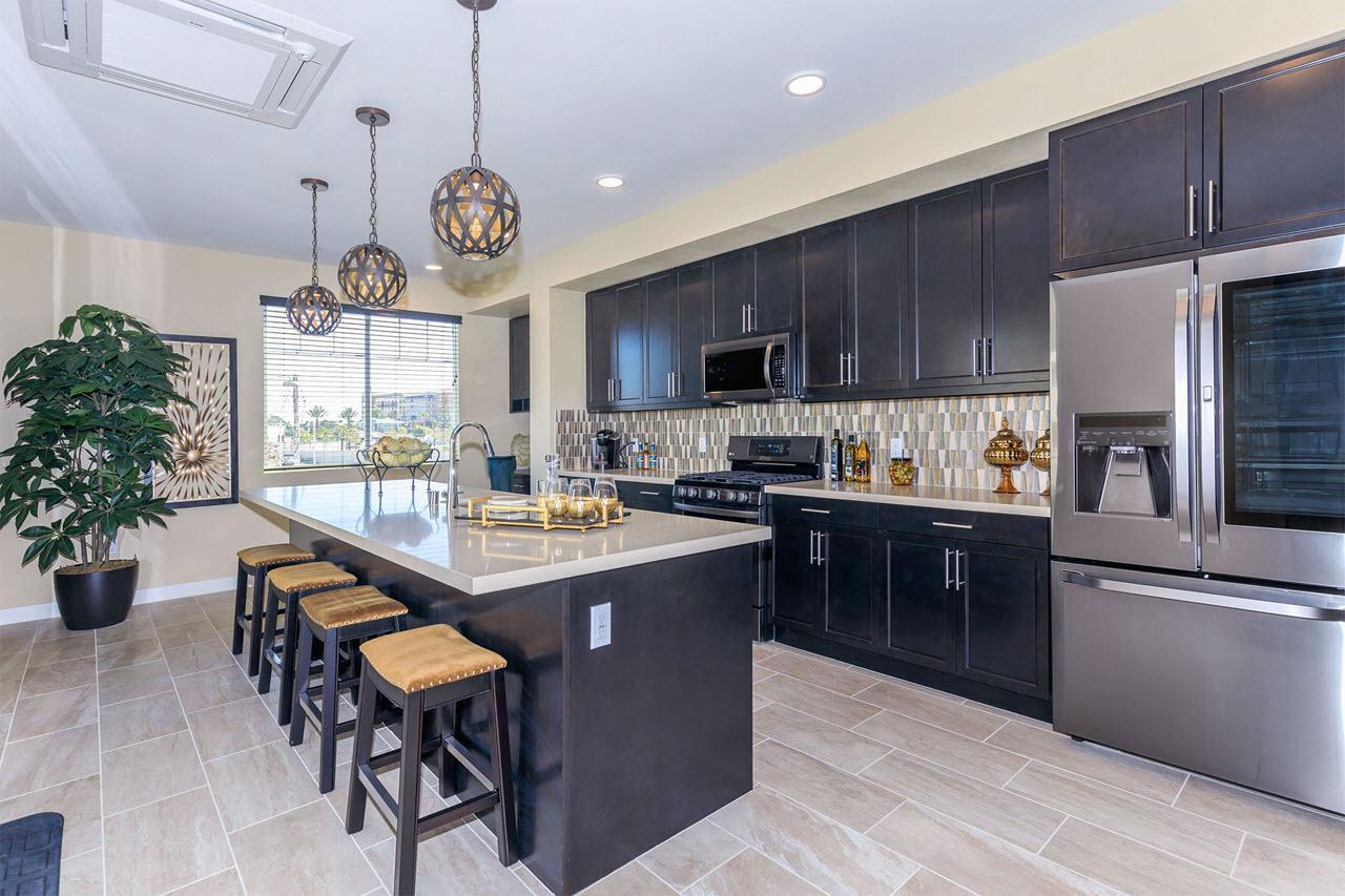 Kitchen featured in the Plan 3A By Oakwood Communities Inc. in Ventura, CA
