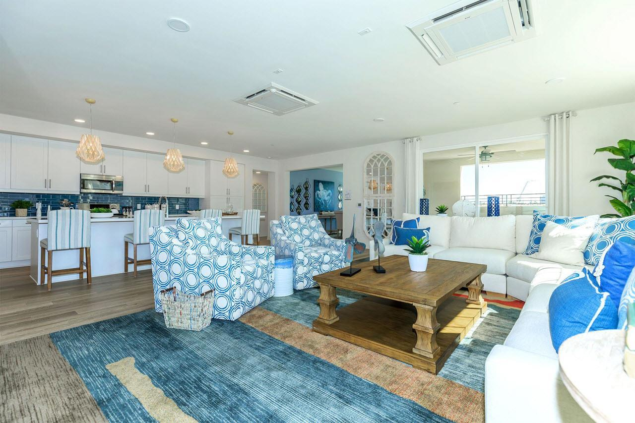 Living Area featured in the Plan 4A By Oakwood Communities Inc. in Ventura, CA