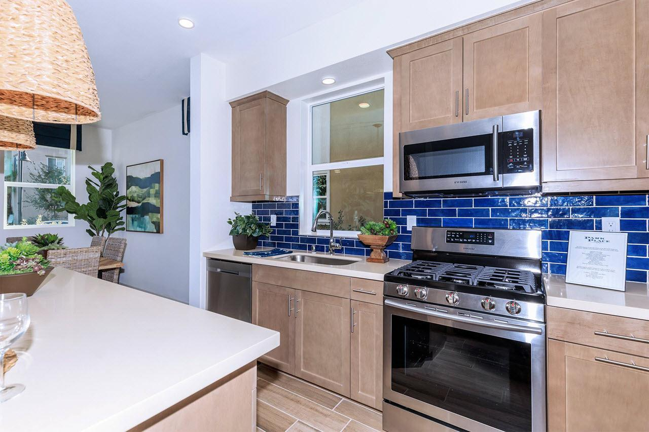 Kitchen featured in the Plan 1 By Oakwood Communities Inc. in Ventura, CA