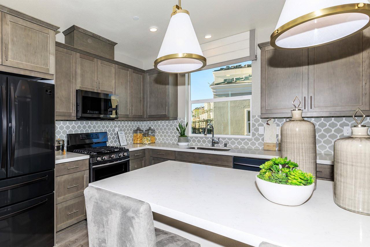 Kitchen featured in the Plan 2 By Oakwood Communities Inc. in Ventura, CA