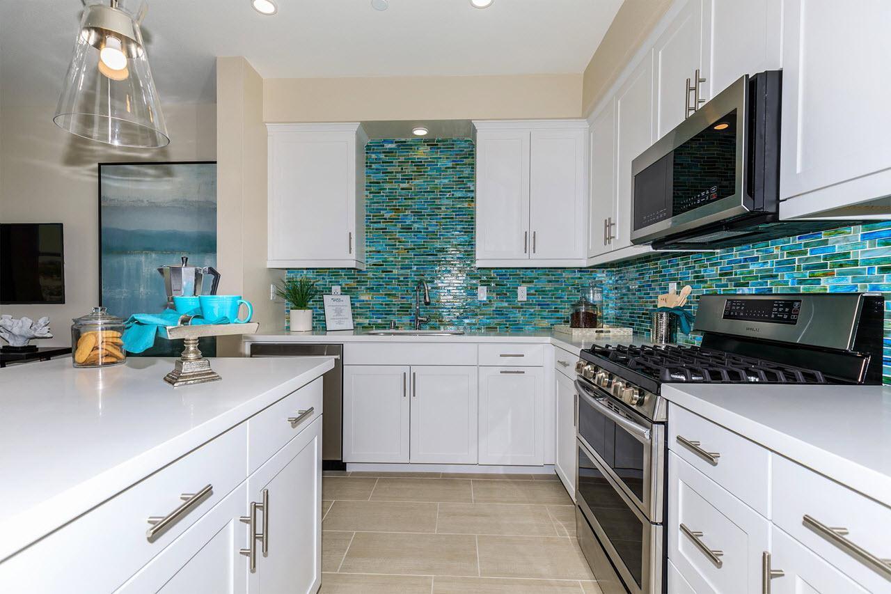 Kitchen featured in the Plan 3 By Oakwood Communities Inc. in Ventura, CA