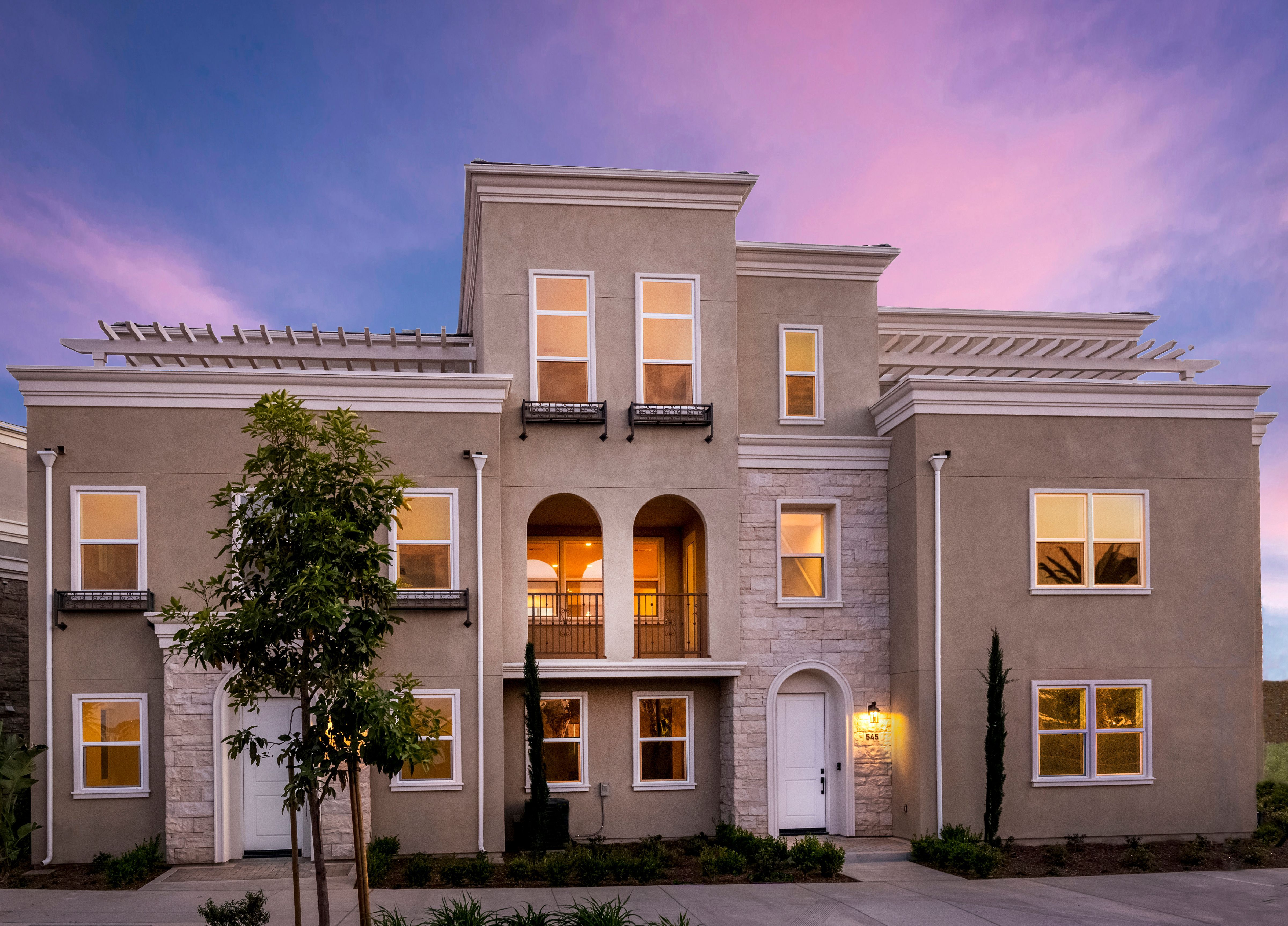 Exterior featured in the Plan 2 Park Place By Oakwood Communities Inc. in Ventura, CA