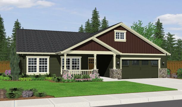 Exterior featured in the 1785 By Olin Homes, LLC in Portland-Vancouver, WA