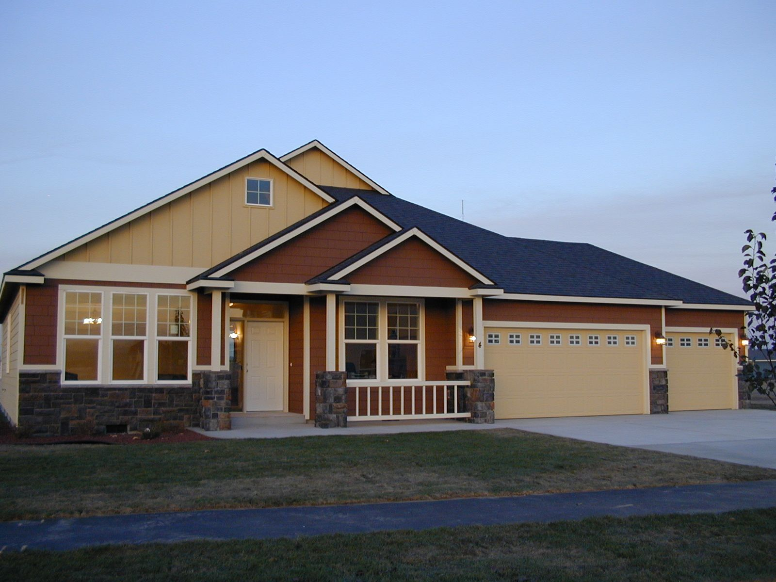 Exterior featured in the 2009 By Olin Homes, LLC in Portland-Vancouver, WA