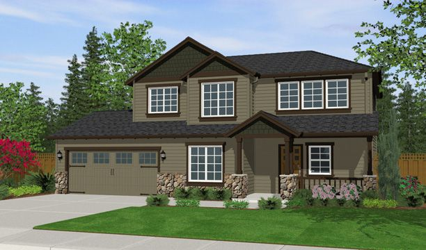 Exterior featured in the 2094 By Olin Homes, LLC in Portland-Vancouver, WA