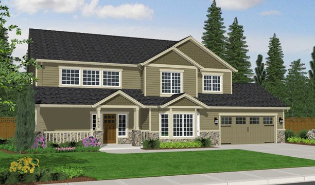 Exterior featured in the 2949 By Olin Homes, LLC in Portland-Vancouver, WA