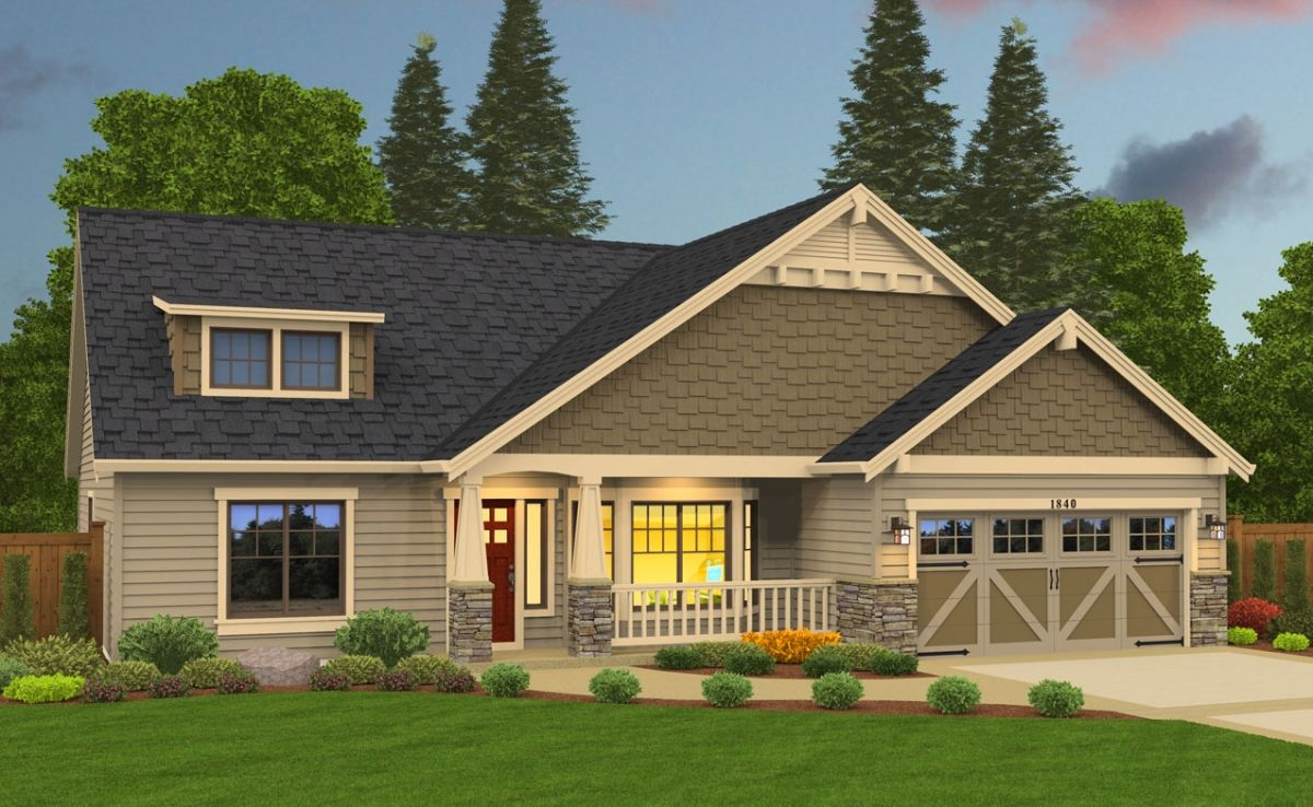 Exterior featured in the 1840 By Olin Homes, LLC in Portland-Vancouver, WA