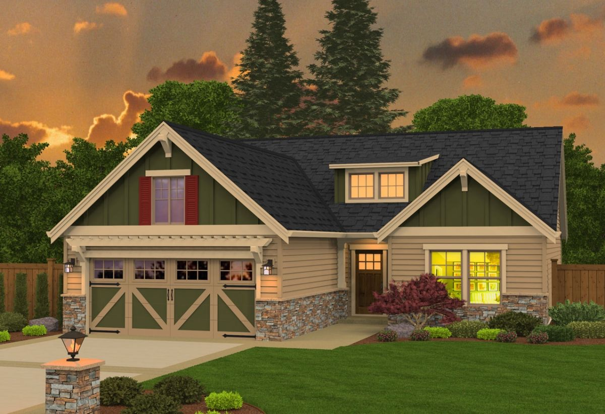 Exterior featured in the 2049 By Olin Homes, LLC in Portland-Vancouver, WA