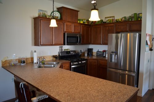 Kitchen-in-Cedar 1709-at-Stone Forest-in-Kalama