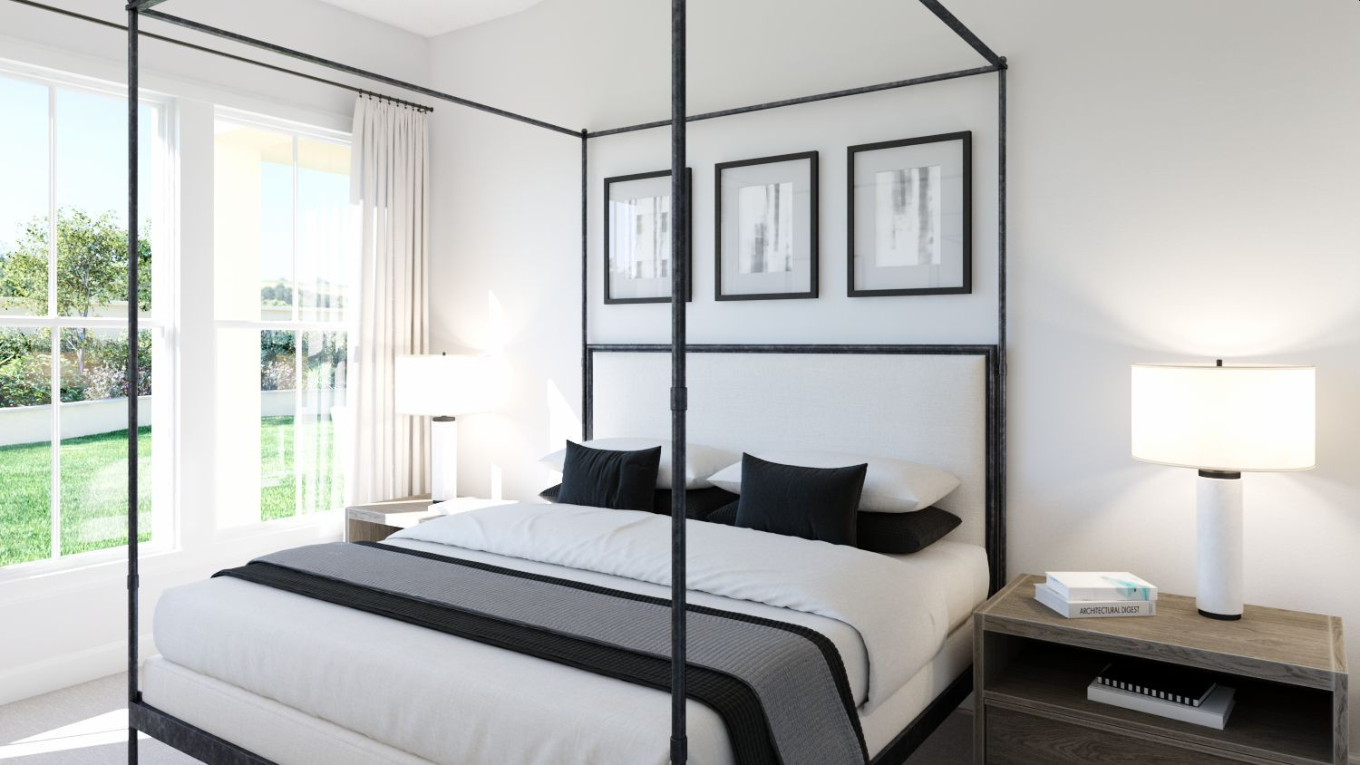 Bedroom featured in the Burke By Olivia Clarke Homes  in Dallas, TX