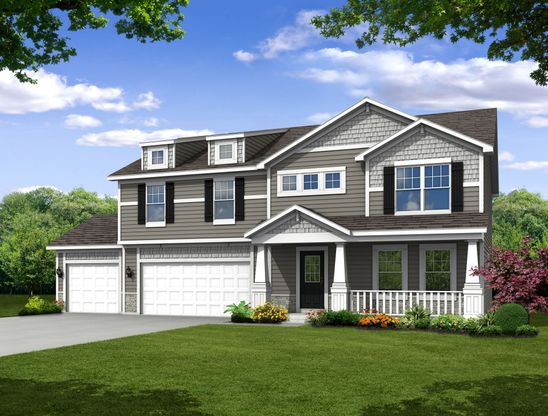 Brookfield Plan Cedar Lake Indiana 46303 At Centennial By Olthof Homes