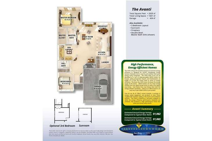 Avanti:Welcome to the Avanti by Olthof Homes.  This 1,601 sf single family villa home, affords all the bene