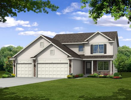 Corlin's Landing by Olthof Homes in Gary Indiana