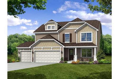 Brighton by Olthof Homes in Gary Indiana