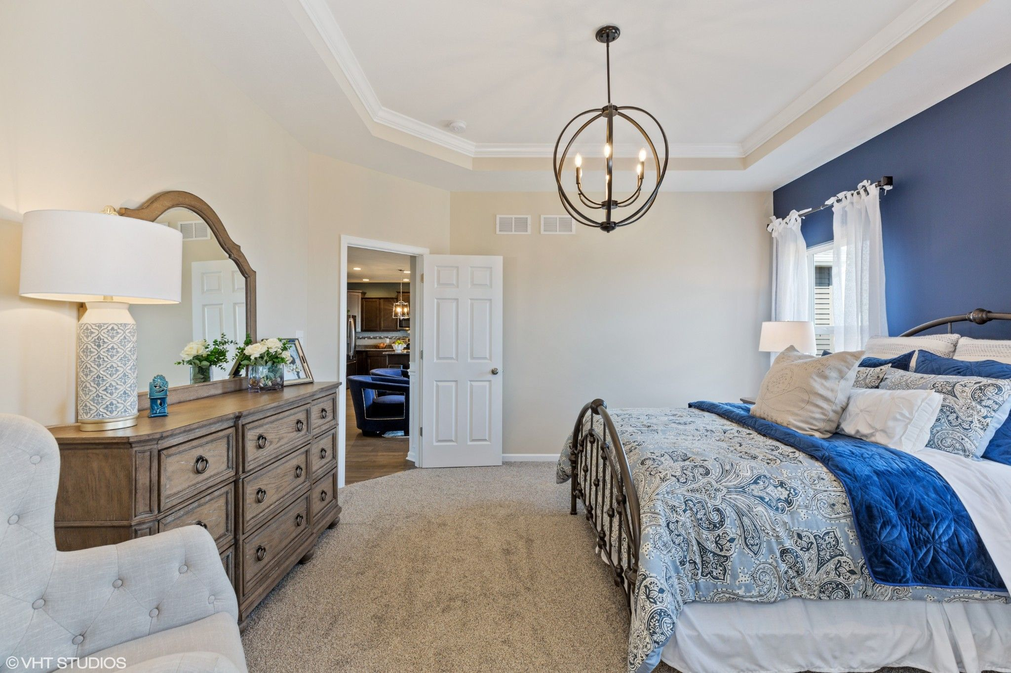 Bedroom featured in the Avalon By Olthof Homes in Gary, IN
