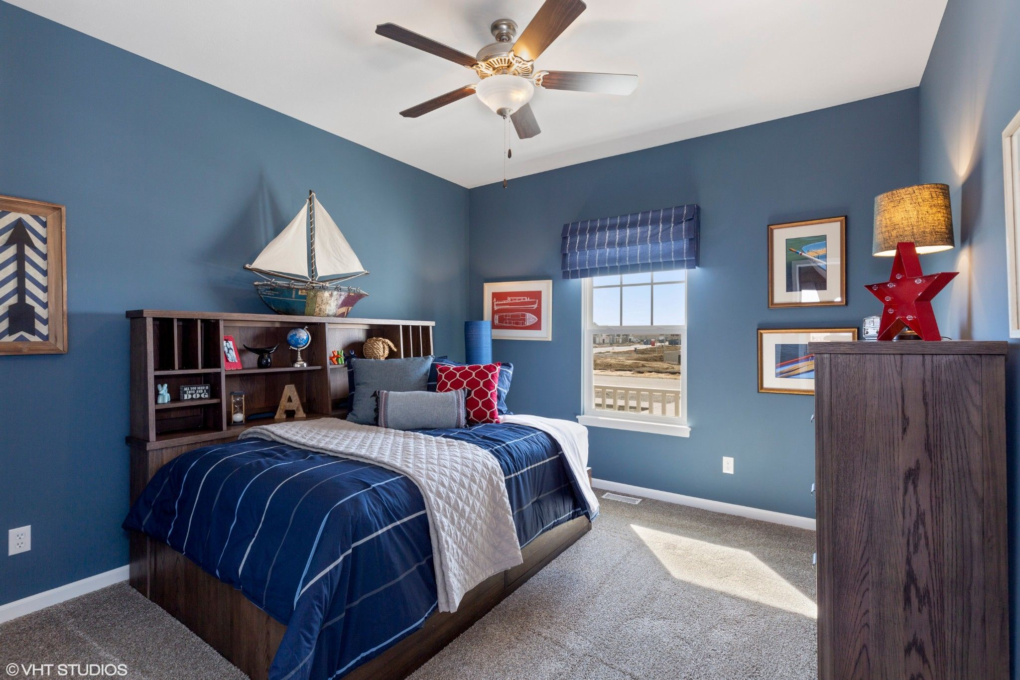 Bedroom featured in the Heartland By Olthof Homes in Gary, IN
