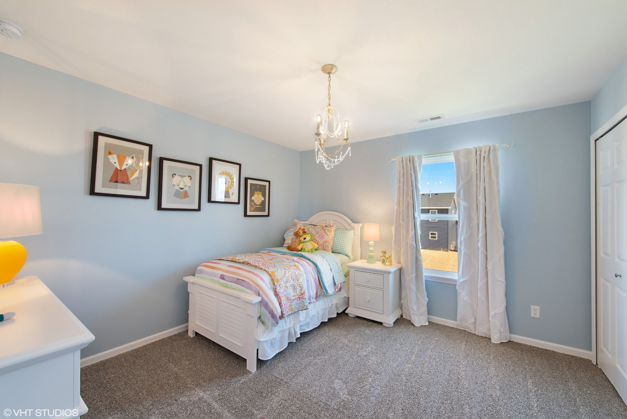 Bedroom featured in the Brookfield By Olthof Homes in Gary, IN
