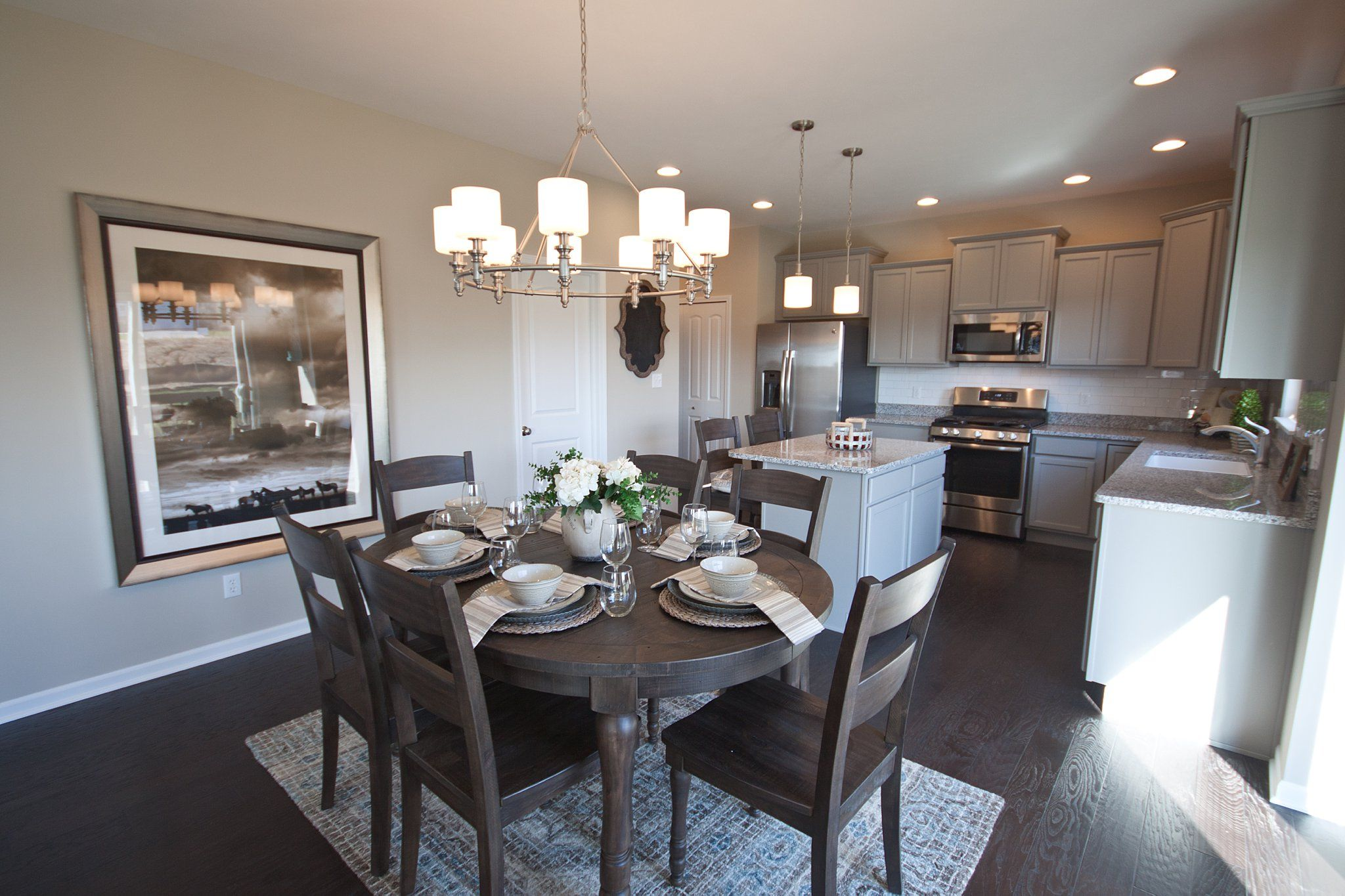Kitchen featured in the Baymont By Olthof Homes in Gary, IN