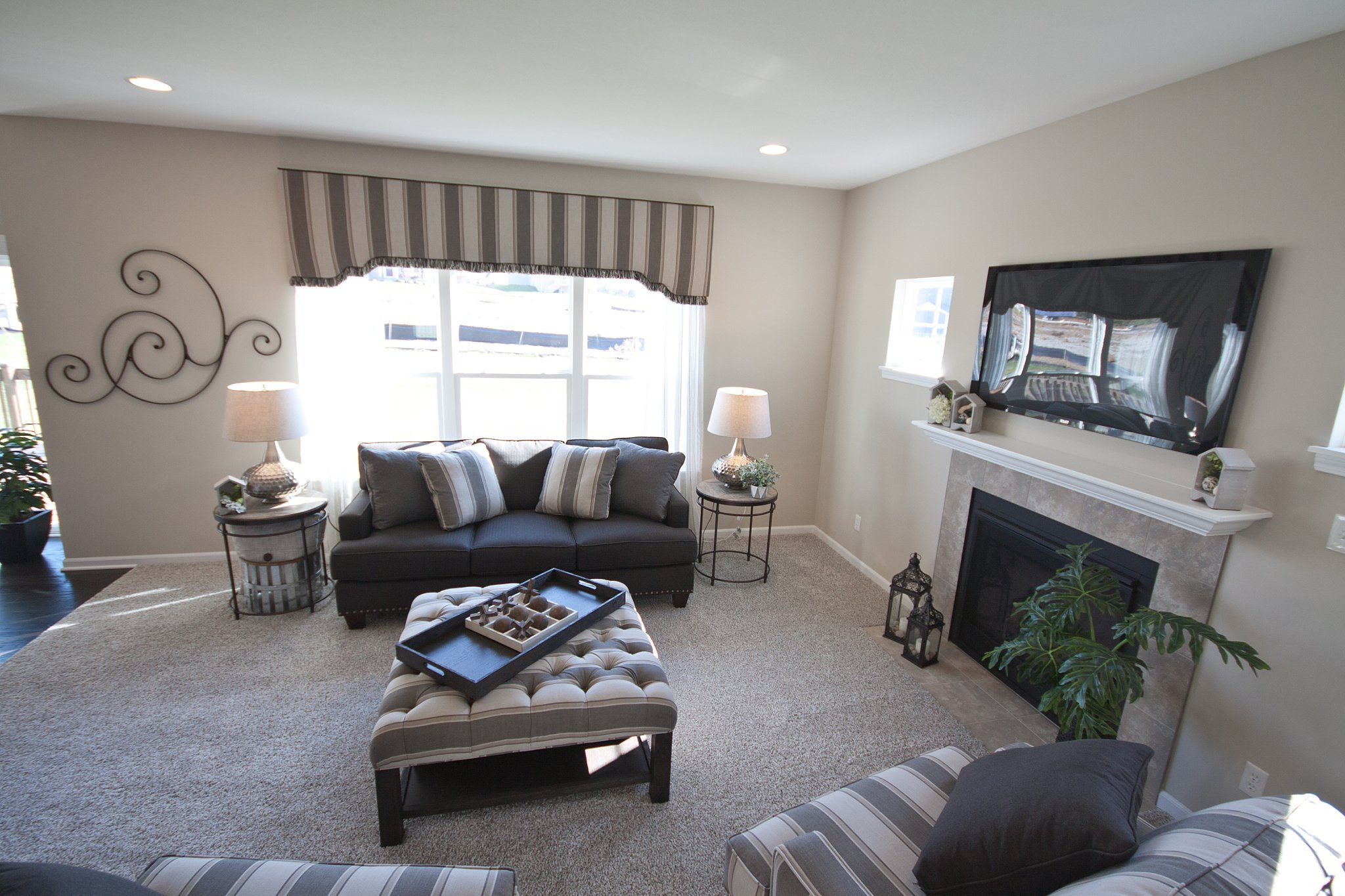 Living Area featured in the Baymont By Olthof Homes in Gary, IN
