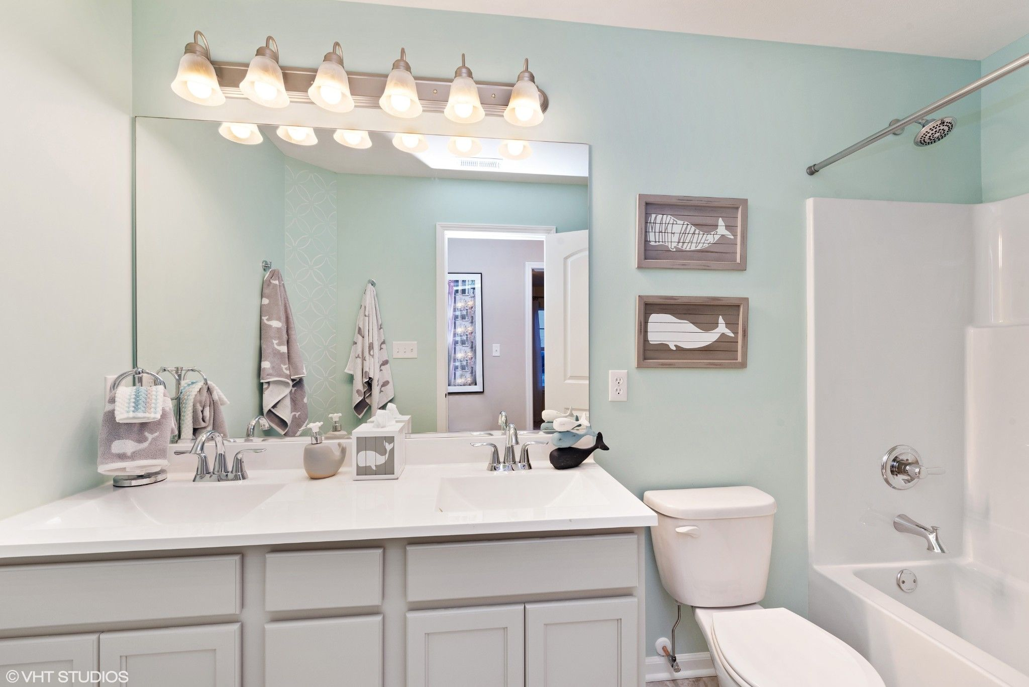Bathroom featured in the Baymont By Olthof Homes in Gary, IN