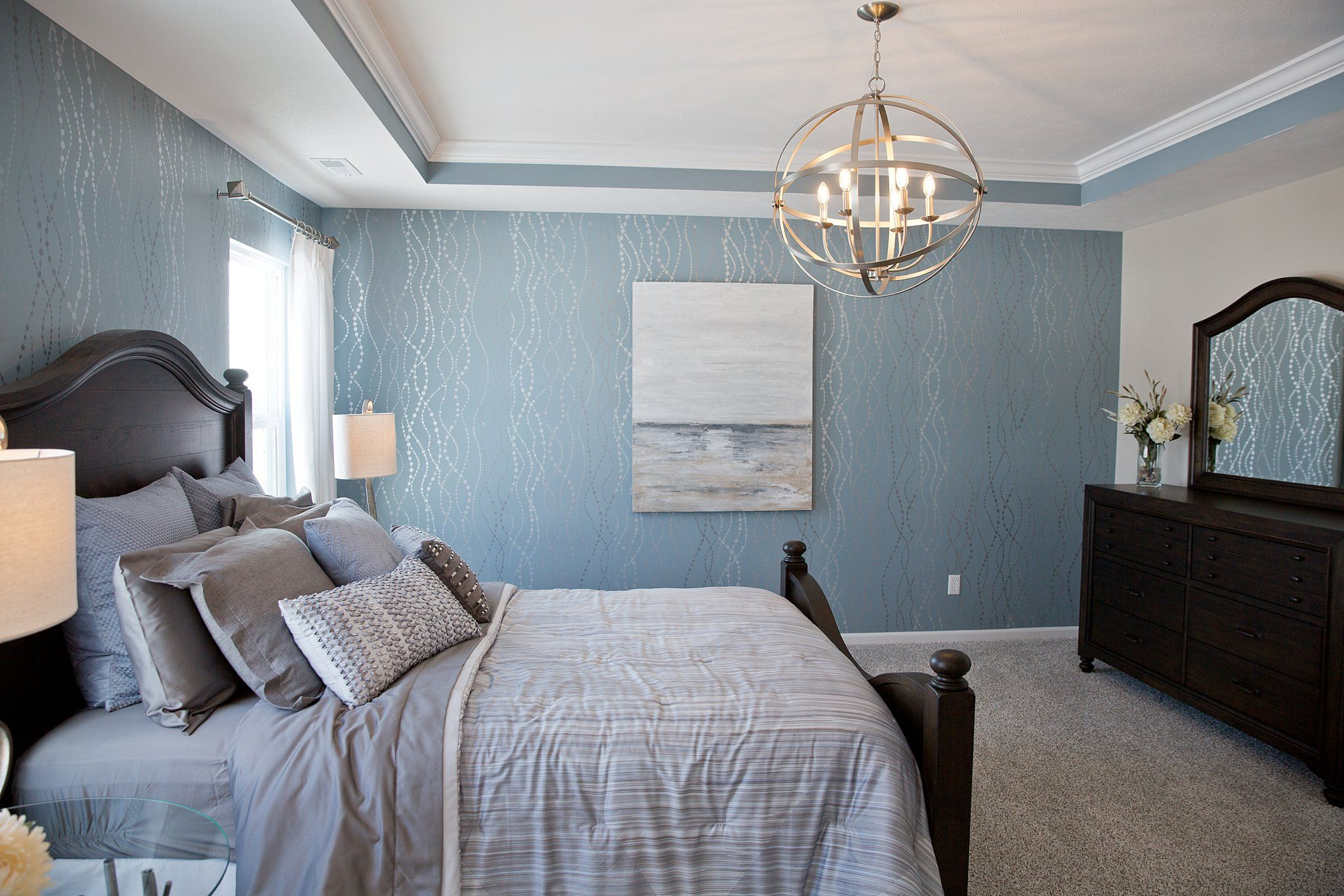 Bedroom featured in the Baymont By Olthof Homes in Gary, IN