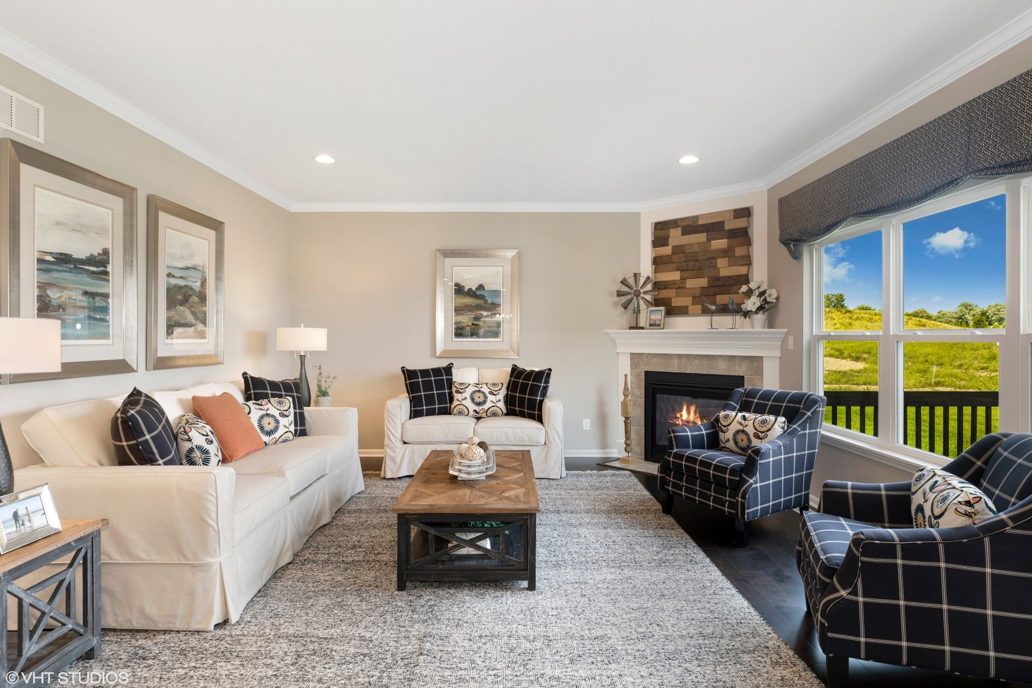 Living Area featured in the Berkley By Olthof Homes in Fort Wayne, IN