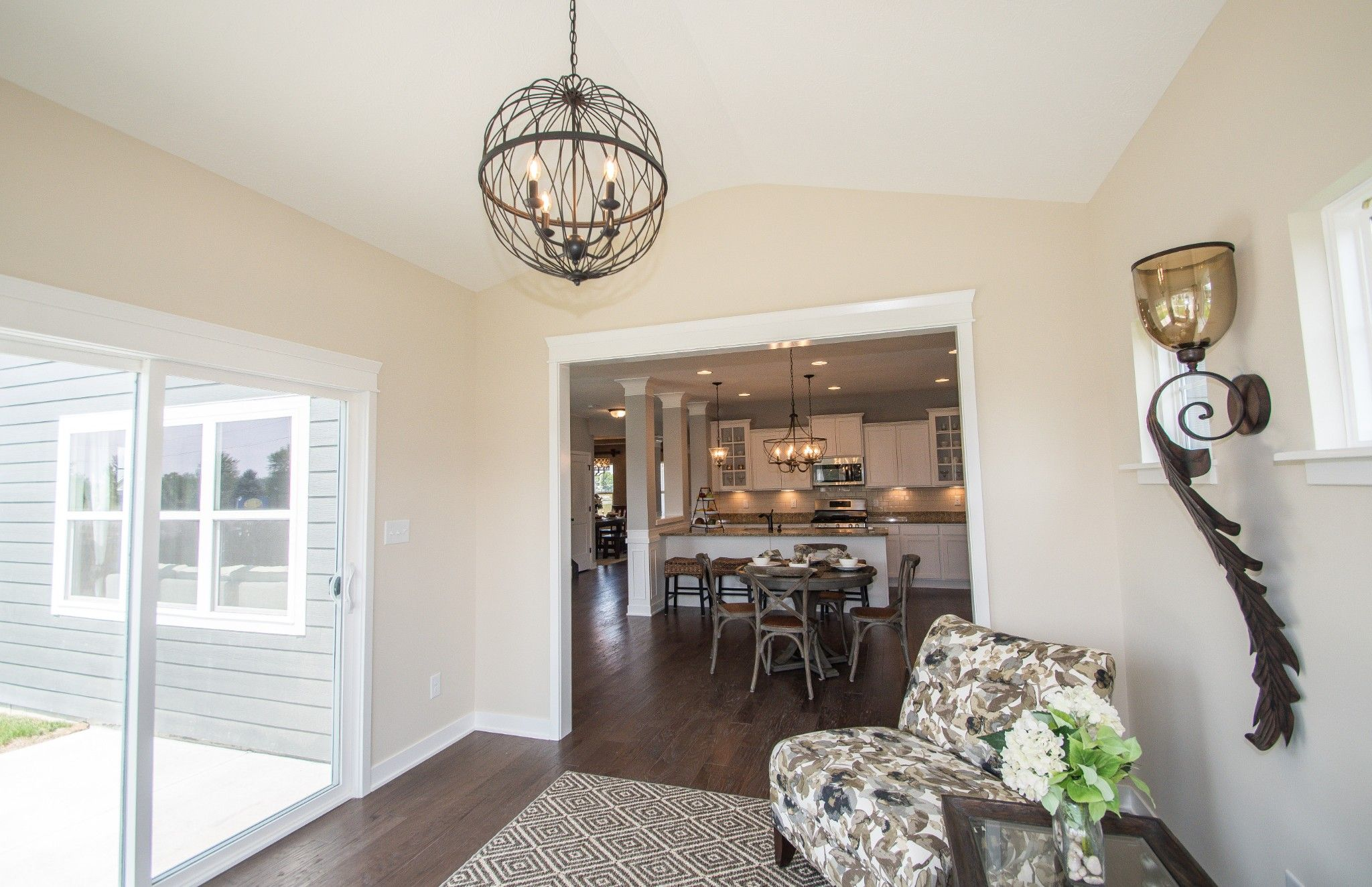 Living Area featured in the Preston By Olthof Homes in Indianapolis, IN