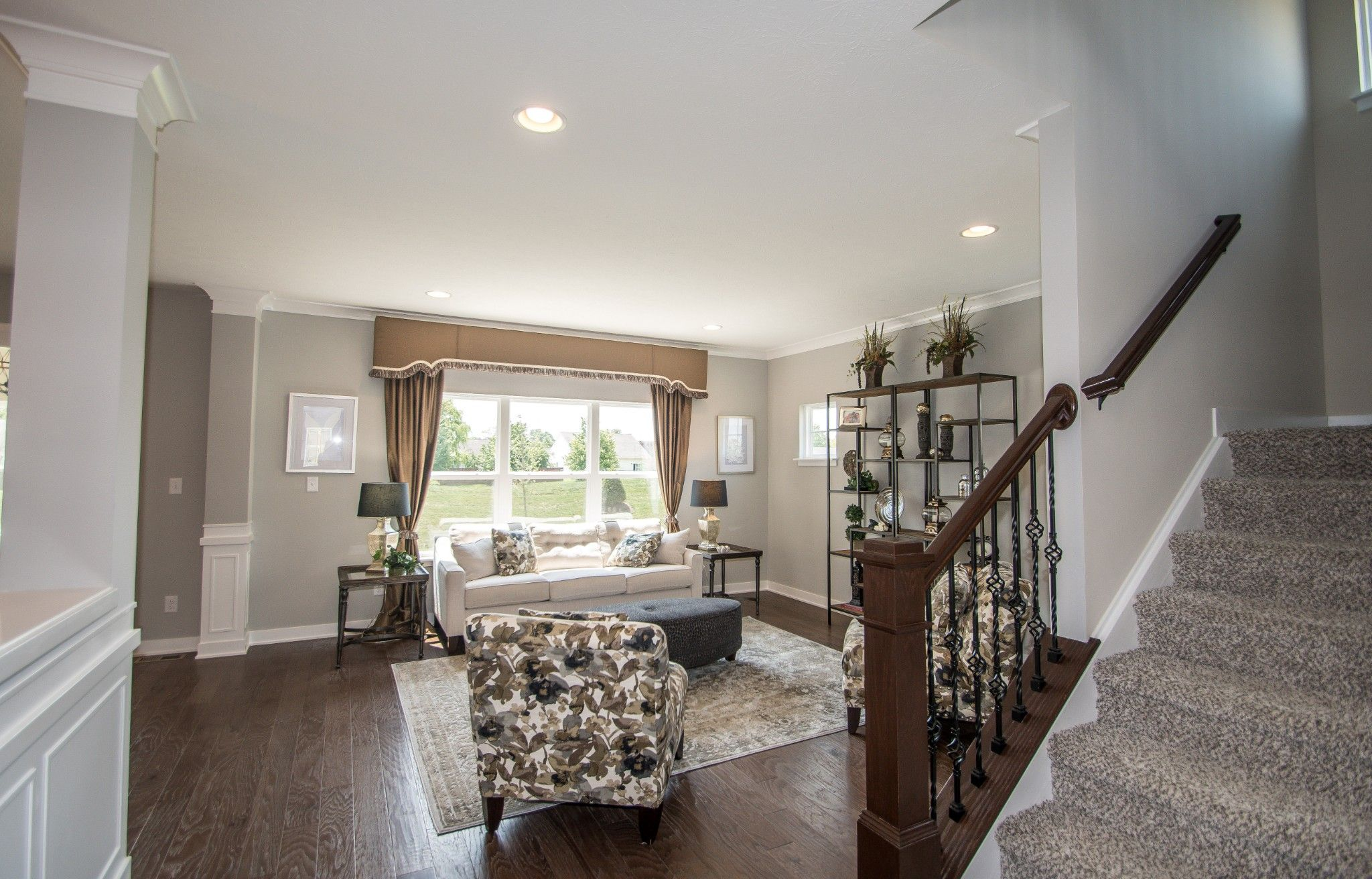 Living Area featured in the Preston By Olthof Homes in Fort Wayne, IN