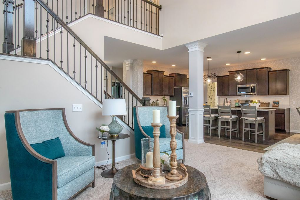 Living Area featured in the Sonoma By Olthof Homes in Indianapolis, IN
