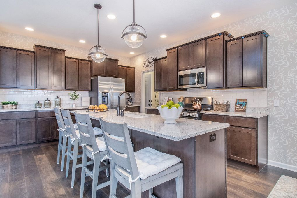 Kitchen featured in the Sonoma By Olthof Homes in Indianapolis, IN