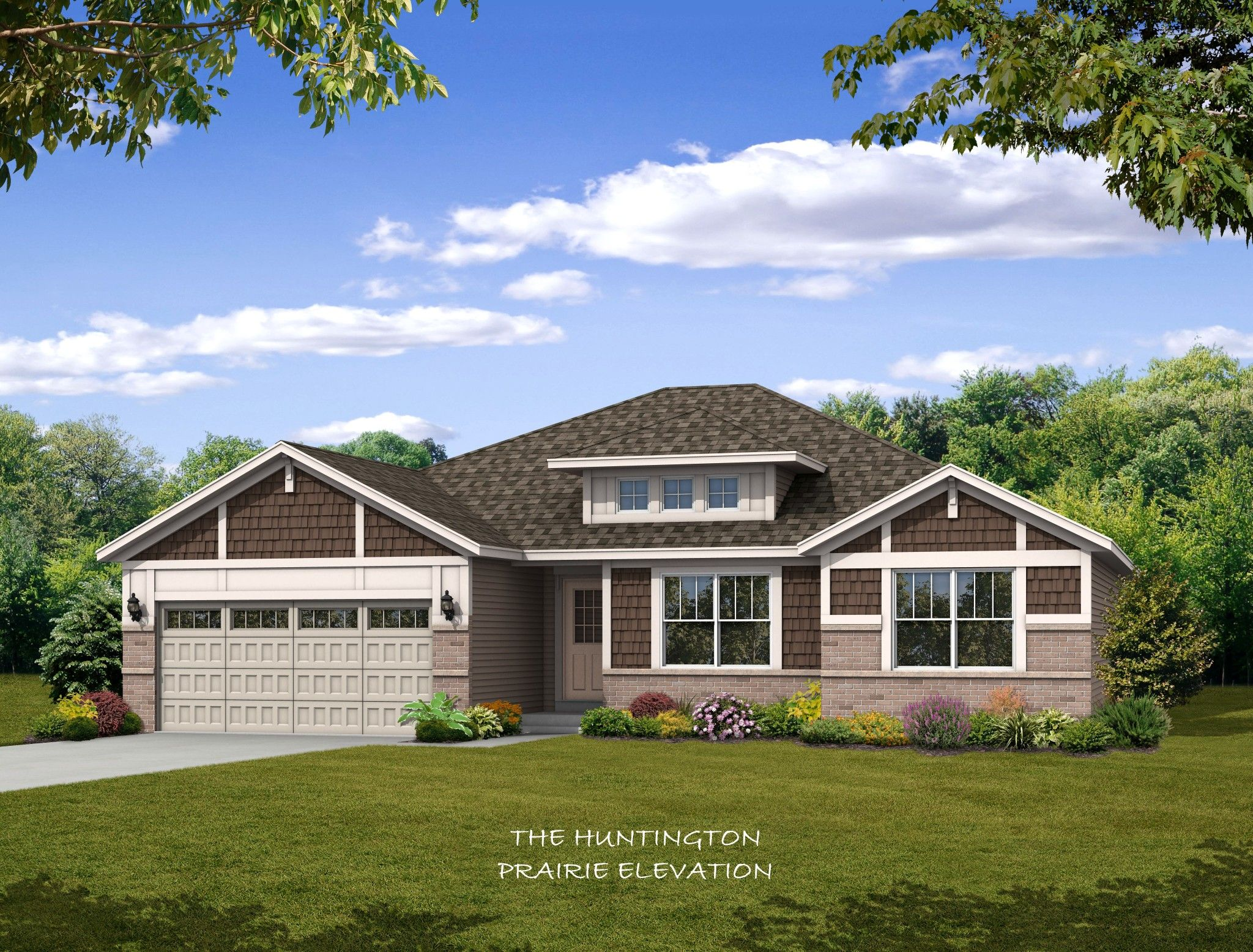 Exterior featured in the Huntington By Olthof Homes in Gary, IN