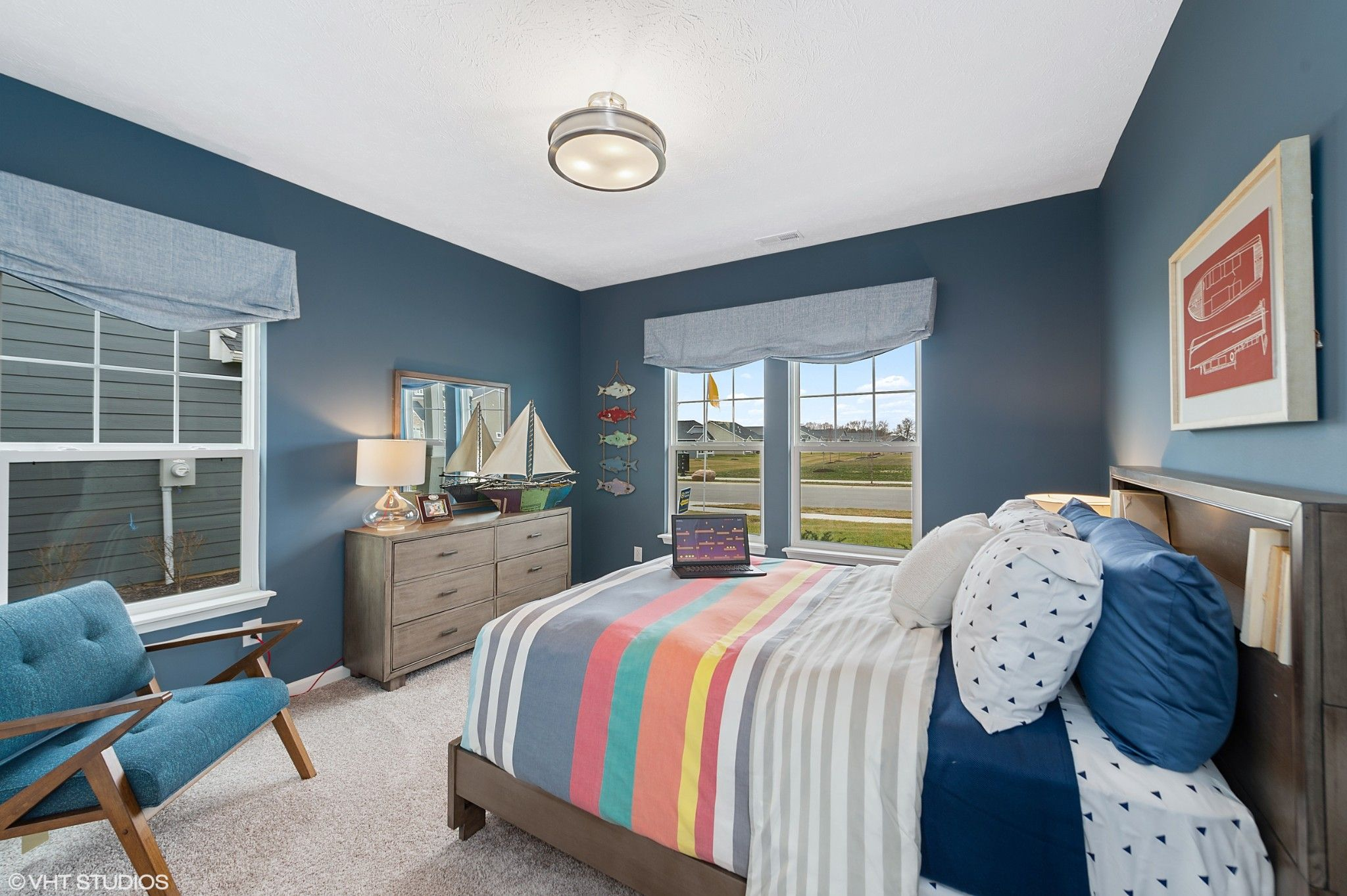 Bedroom featured in the Huntington By Olthof Homes in Fort Wayne, IN