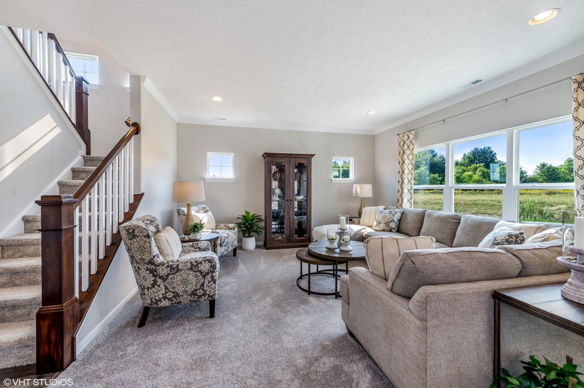 Living Area featured in the Dover By Olthof Homes in Fort Wayne, IN