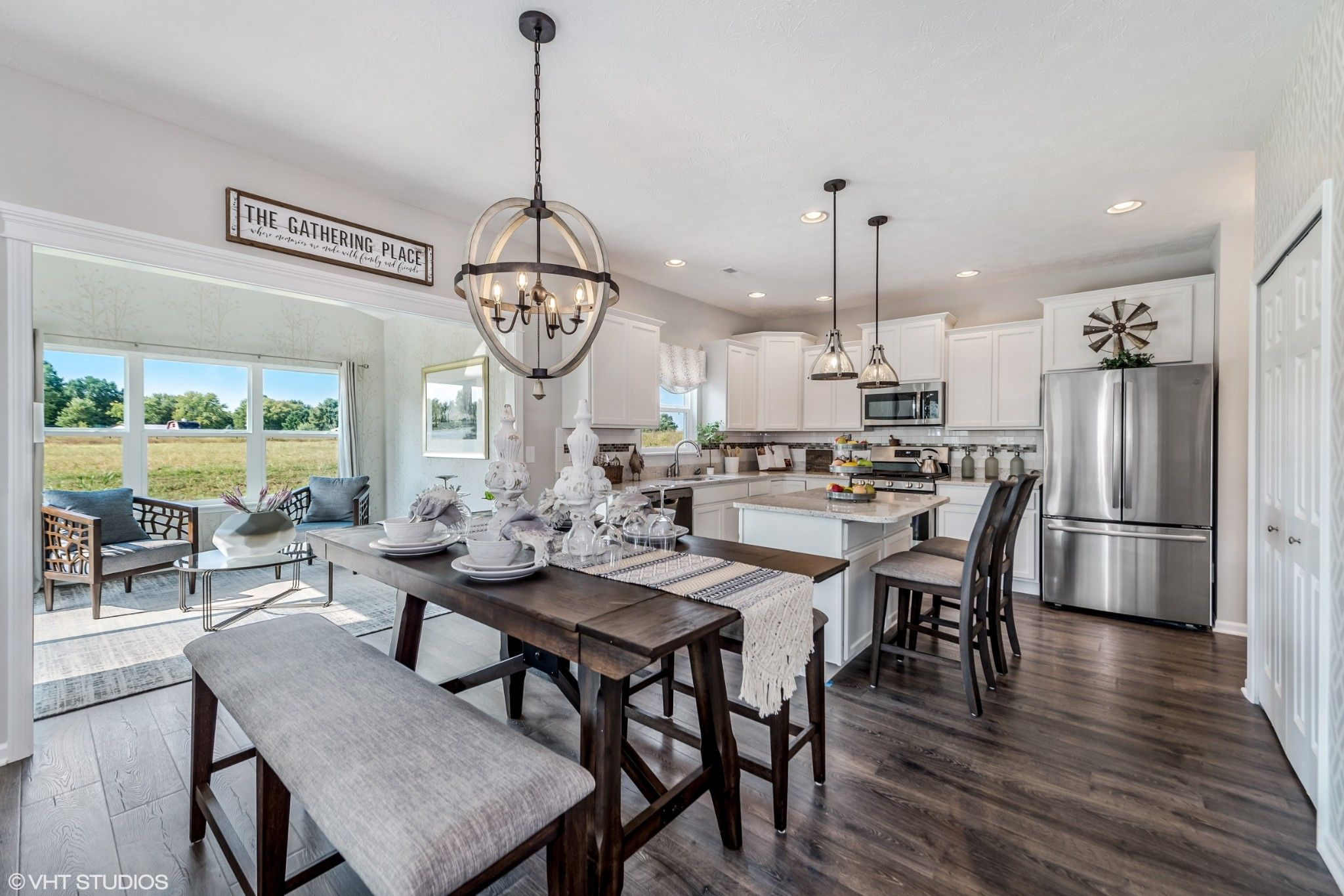 Kitchen featured in the Dover By Olthof Homes in Fort Wayne, IN